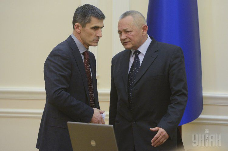 Игорь Тенюх и Виталий Ярема