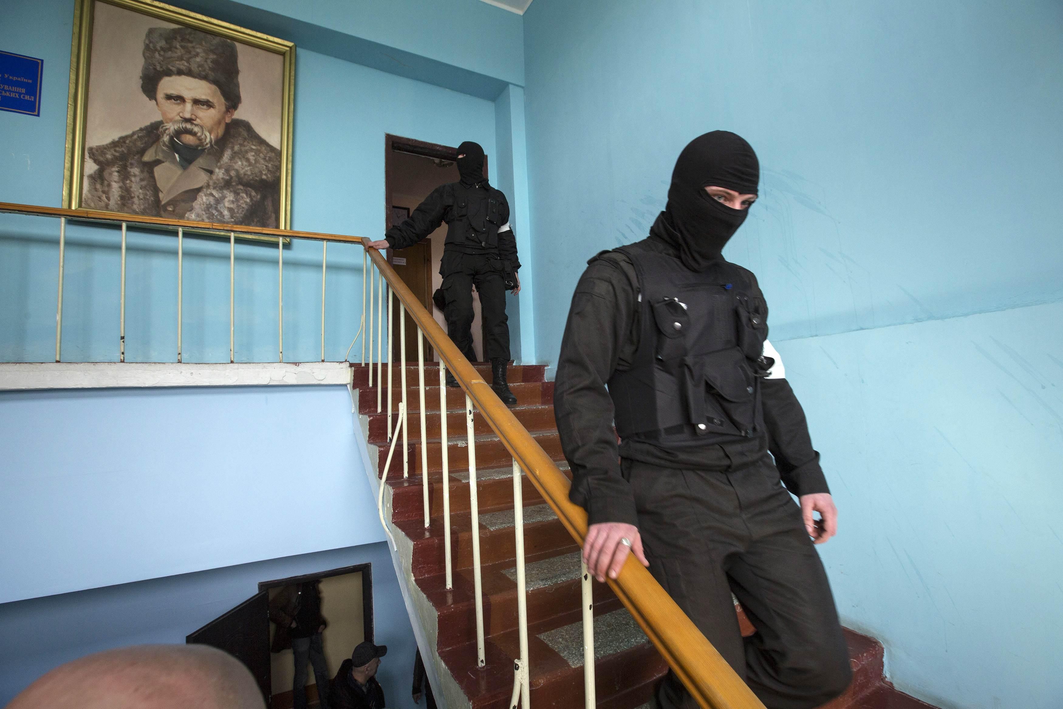 Захват штаба в Севастополе