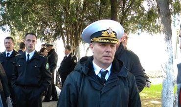 Командующий ВМС Украины контр-адмирал Сергей Гайдук