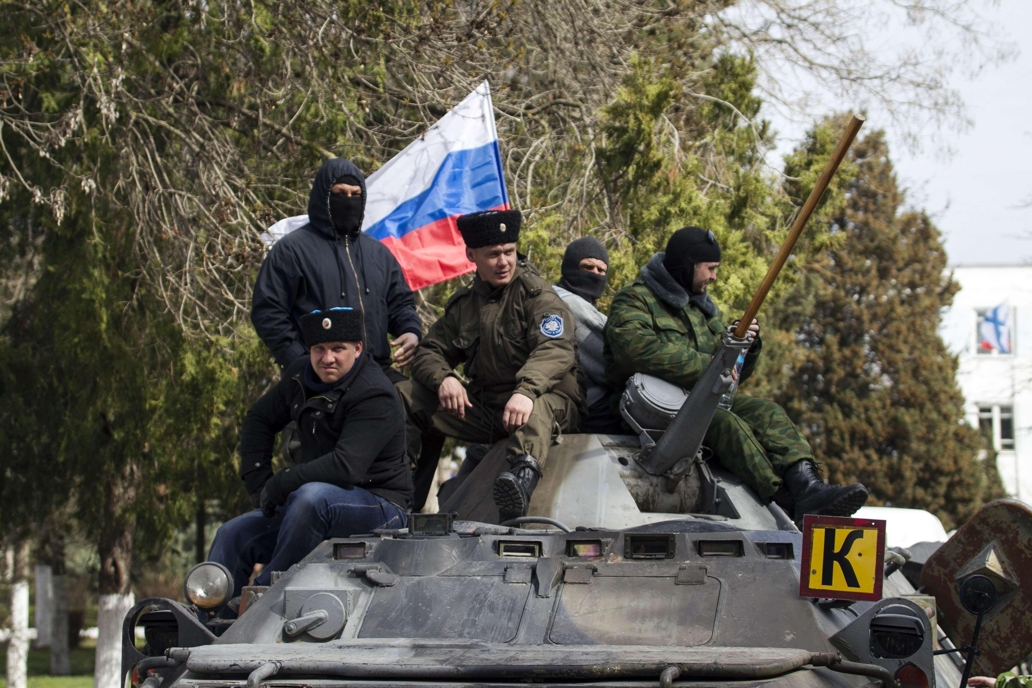 После Крыма Россия начала