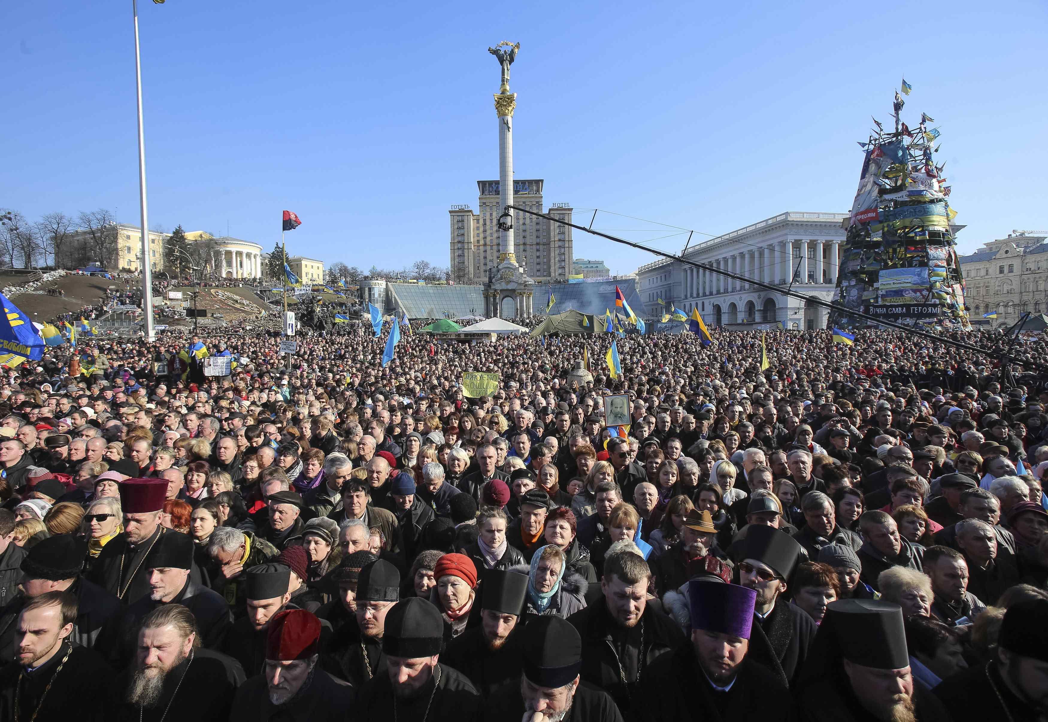 Майдан предупредили о возможных провокациях