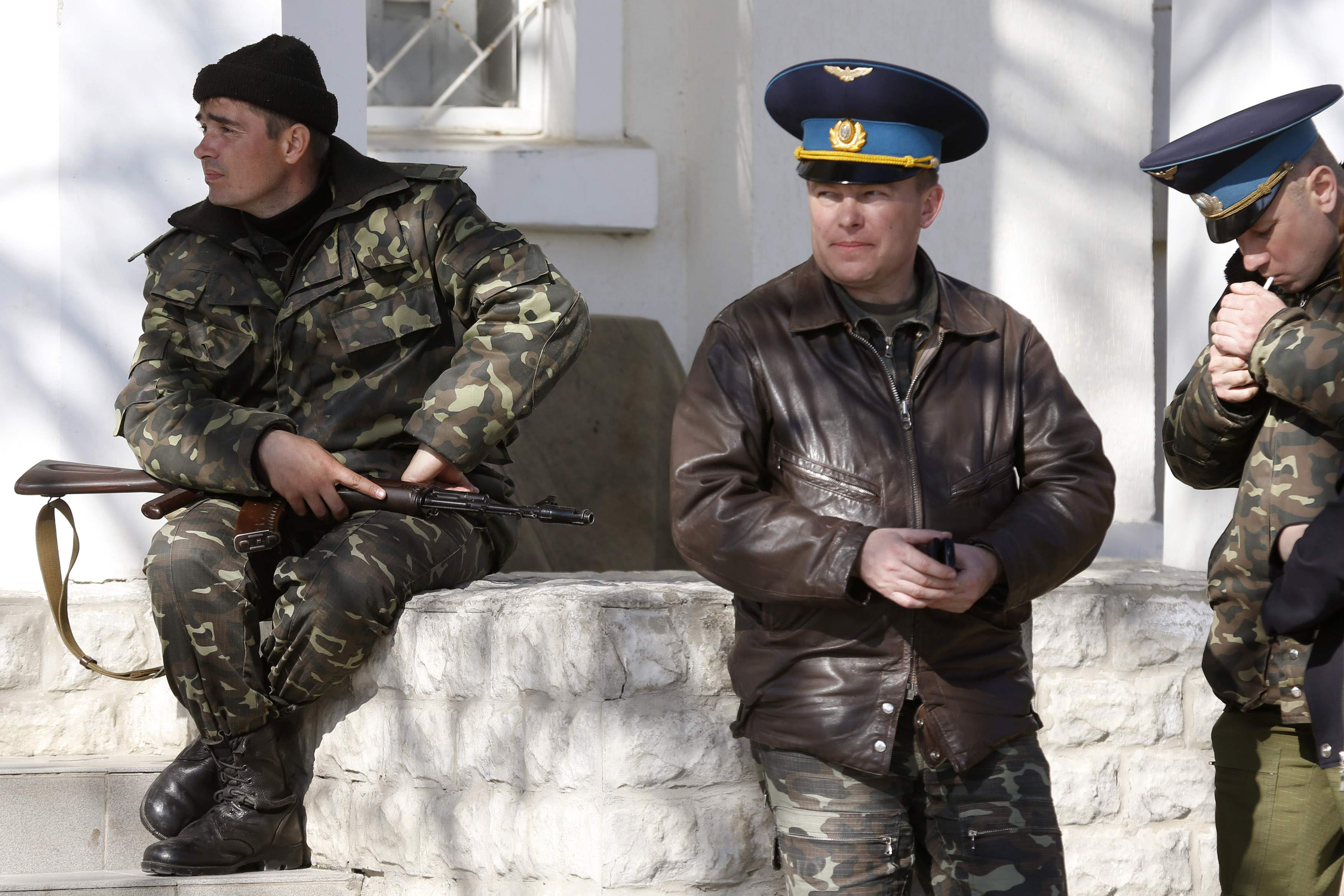 Юлий Мамчур не освобожден оккупантами