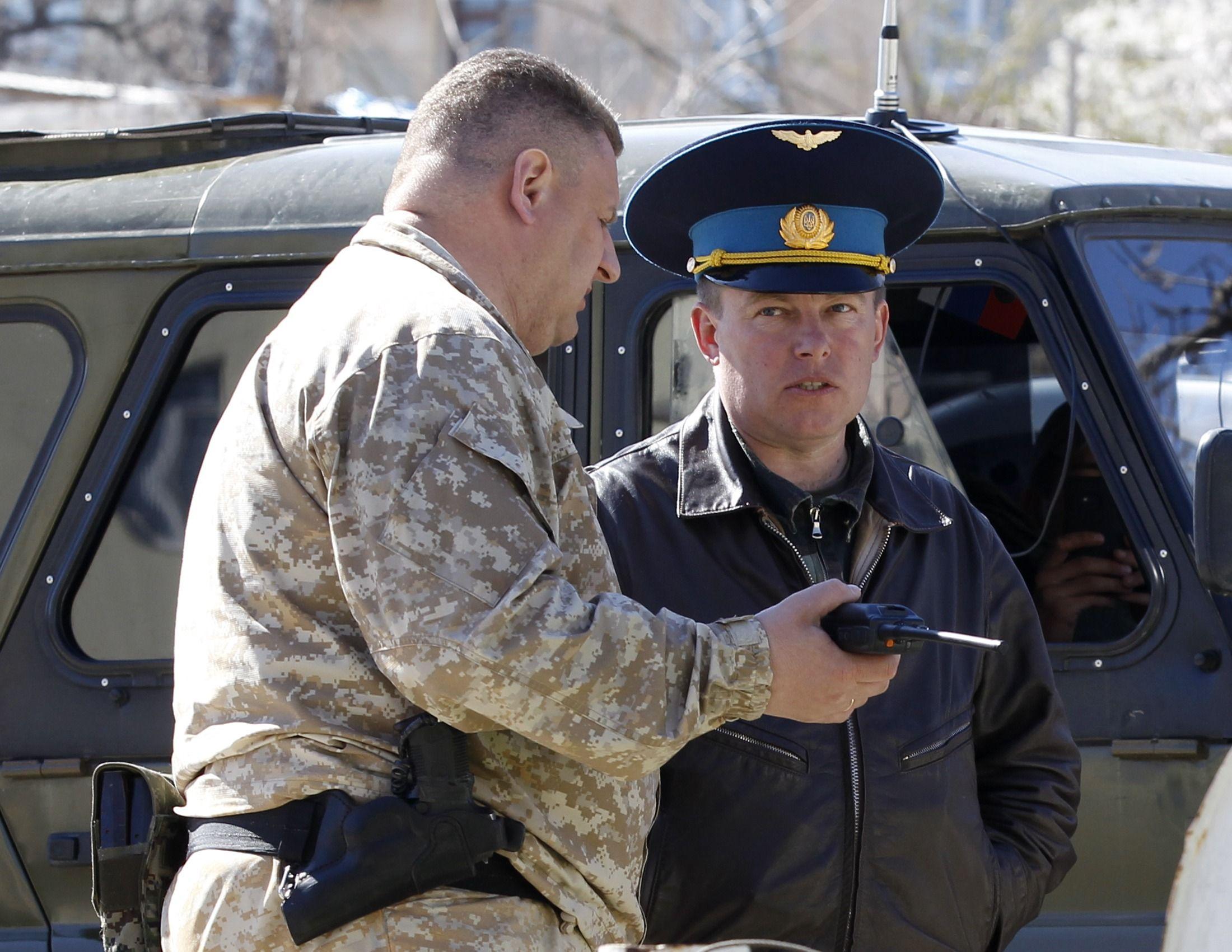 Российский спецназовец и украинский полковник Мамчур