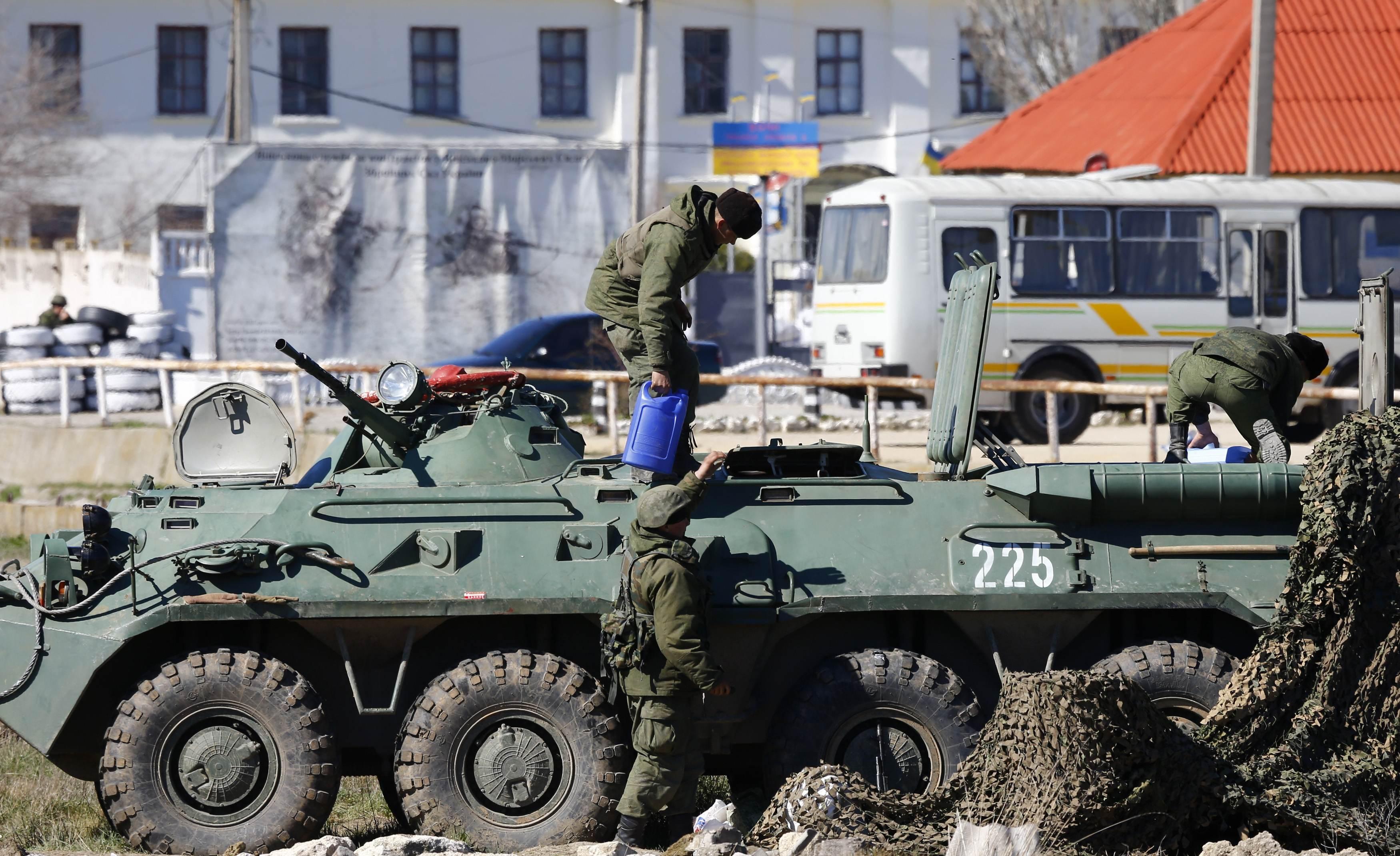 Российские военные срывают турсезон