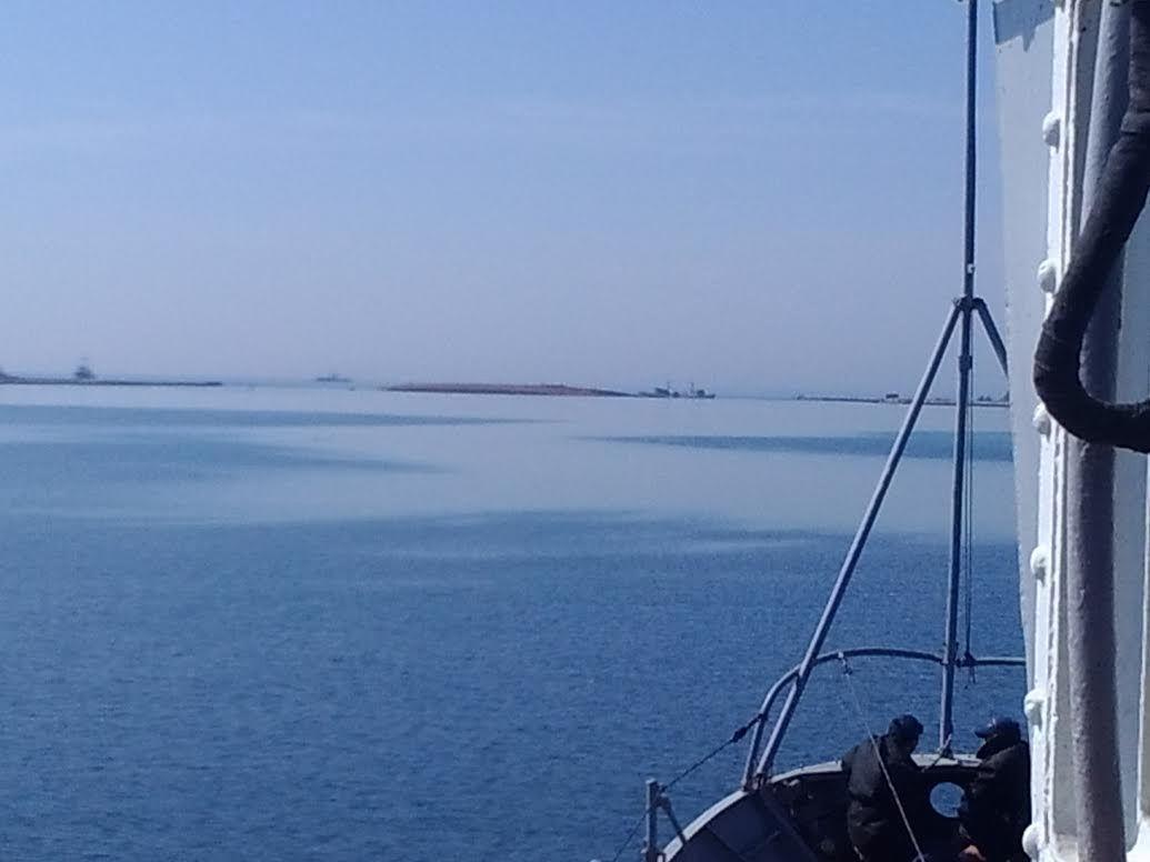 Затопленные российские корабли в Донузлаве