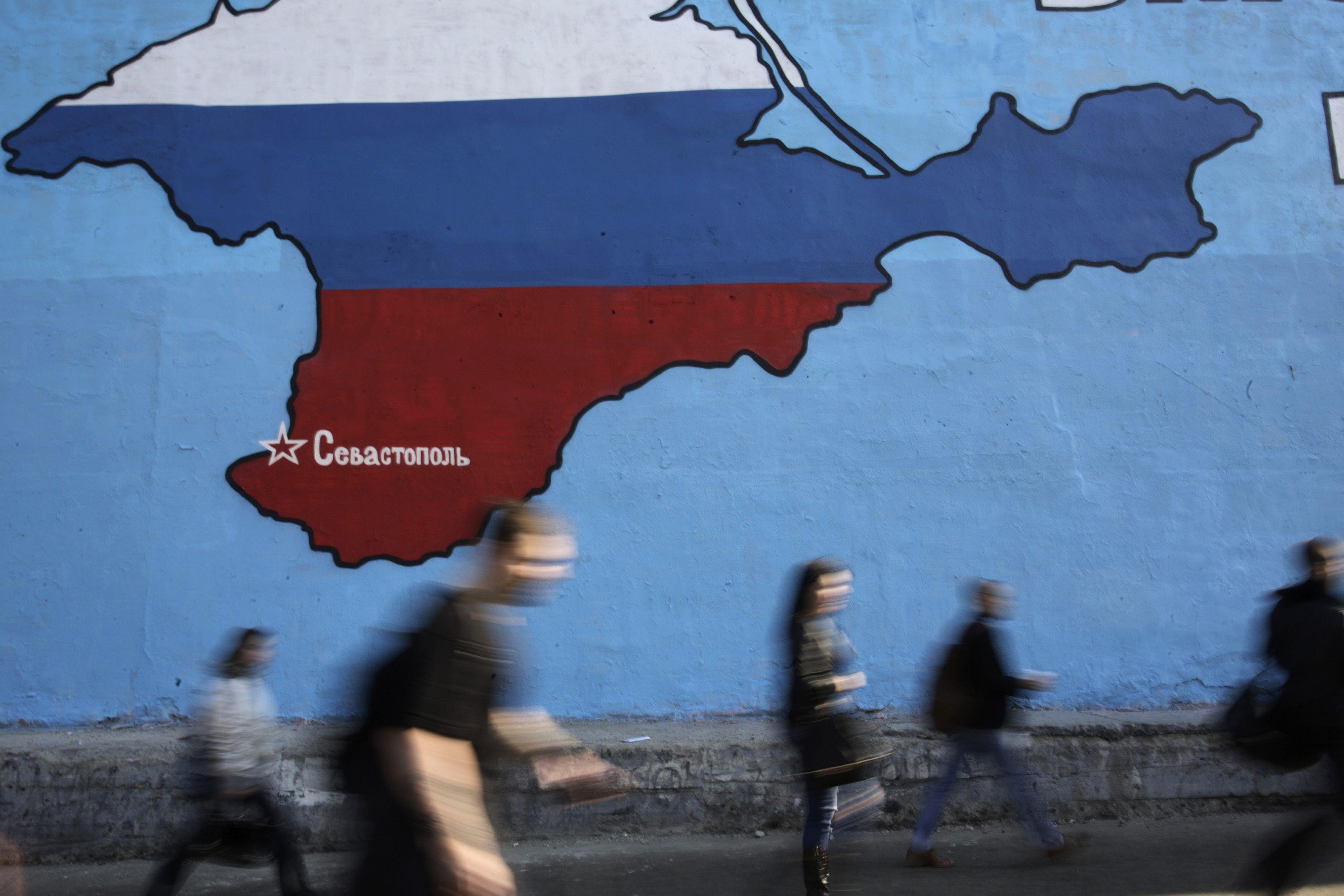 Рисунок в Крыму, иллюстрация