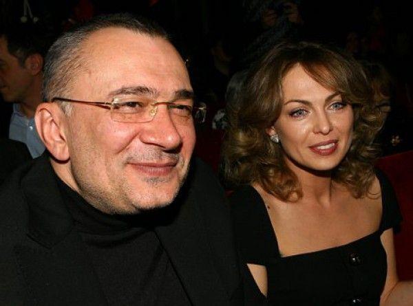 Константин Меладз с экс-женой Яной