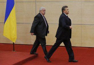 Янукович на пресс-конференции в России
