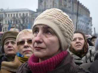 Вече на Майдане в поддержку Крыма