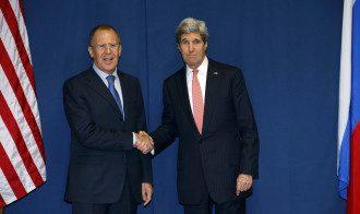 Раньше Керри и Лавров встречались без украинской стороны