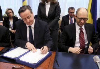 Подписание Соглашения об ассоциации