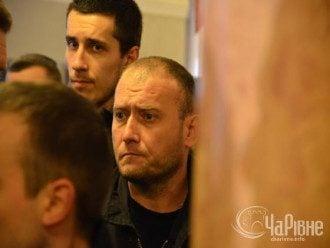 "Лиер ""Правого сектора"" Дмитрий Ярош на похоронах Саши Белого"