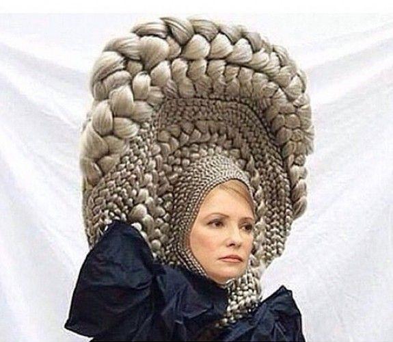 Водонаева хочет прическу, как у Тимошенко