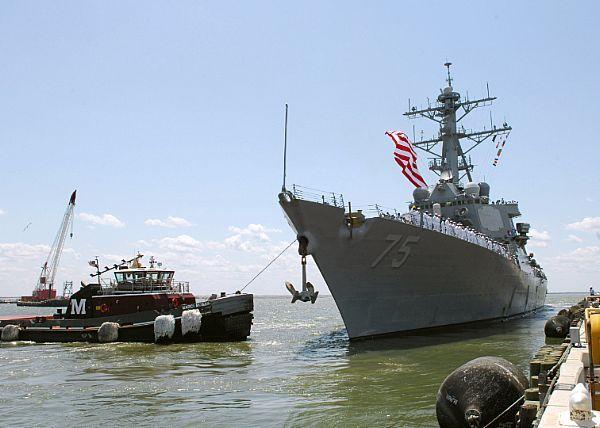 Эксперт сообщил, что эсминец USS Donald Cook в Черном море будет охранять нефтяной путь