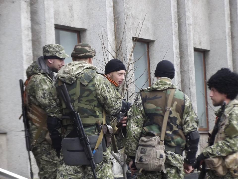 В Донецкой области немало боевиков