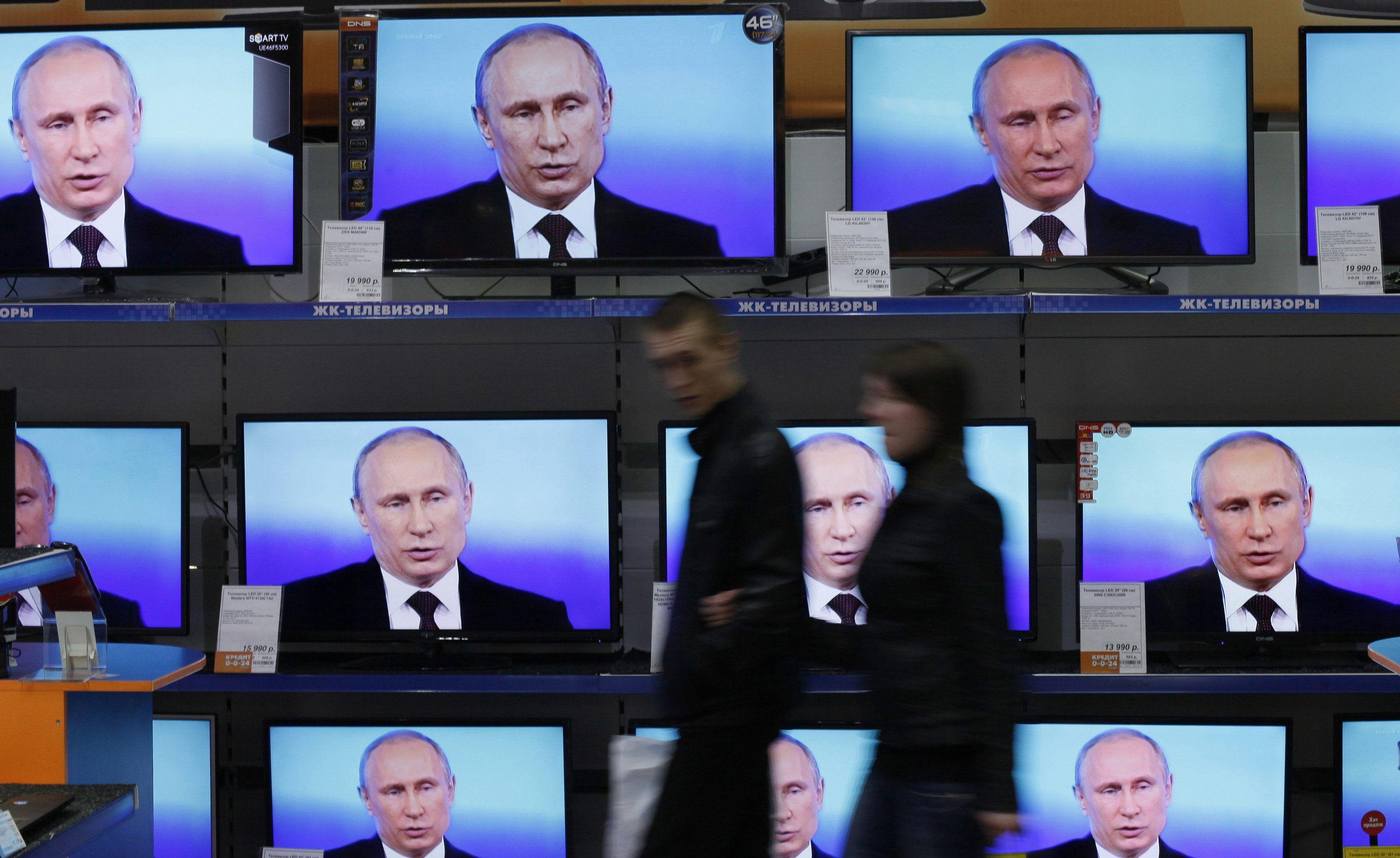Блогер объяснил, на кого рассчитана пропаганда росТВ