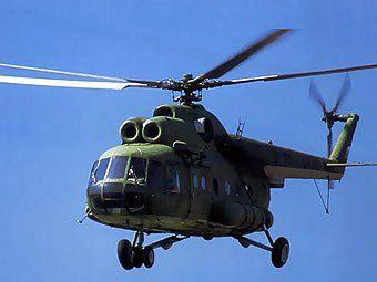 Вертолет Ми-8. Иллюстрация
