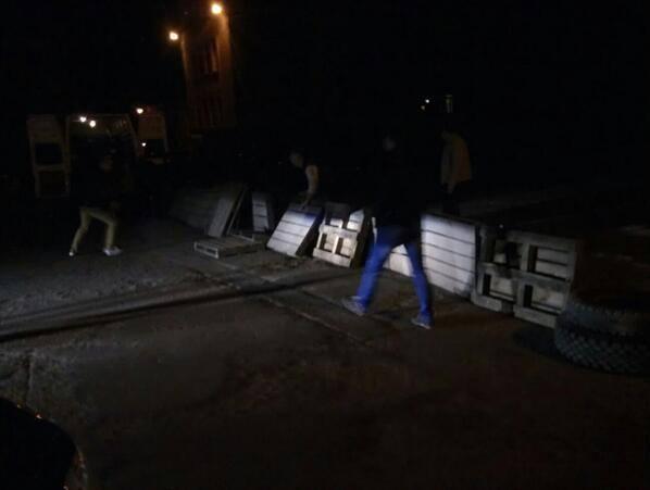 На Луганщине активизировались сепаратисты: строят блок-посты, опубликованы фото