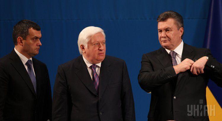 Янукович, Пшонка и Захарченко, будут объявлены в розыск.