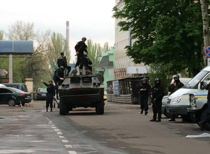Бойцы Нацгвардии задержали 7 боевиков