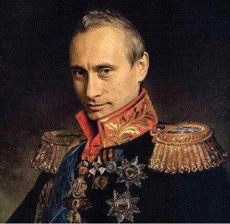 Так выглядел бы Путин в эпоху Возрождения