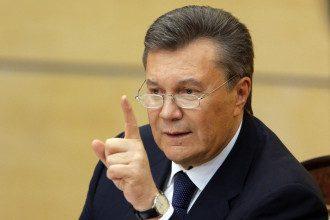 Виктор Янукович в России