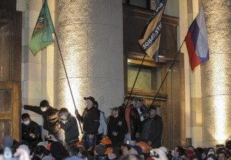 Сепаратисты захватывают Харьковскую ОГА