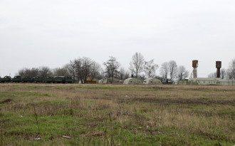 Российский военный лагерь в Белгородской области