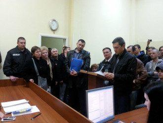 Суд над сепаратистами в Харькове
