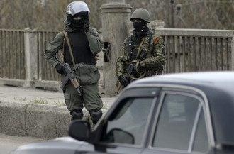 Экстремисты в Славянске
