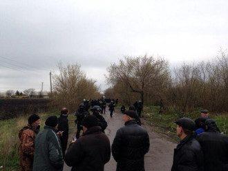 Спецназ разблокировал один из блок-постов в Славянске.