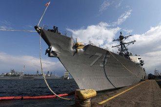 Журналисты выяснили, что корабли Штатов не отправили в Черное море, чтобы не обострять напряженность между РФ и Украиной