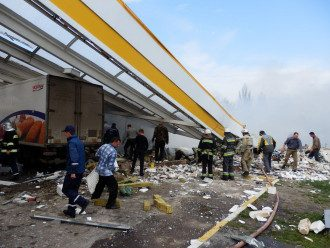 Число жертв взрыва на АЗС на Киевщине возросло