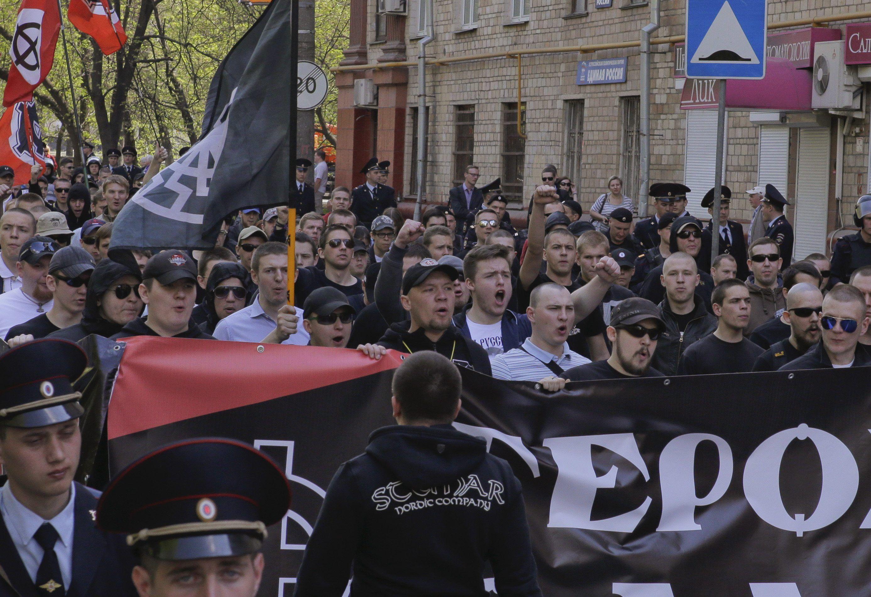 Российские националисты, иллюстрация