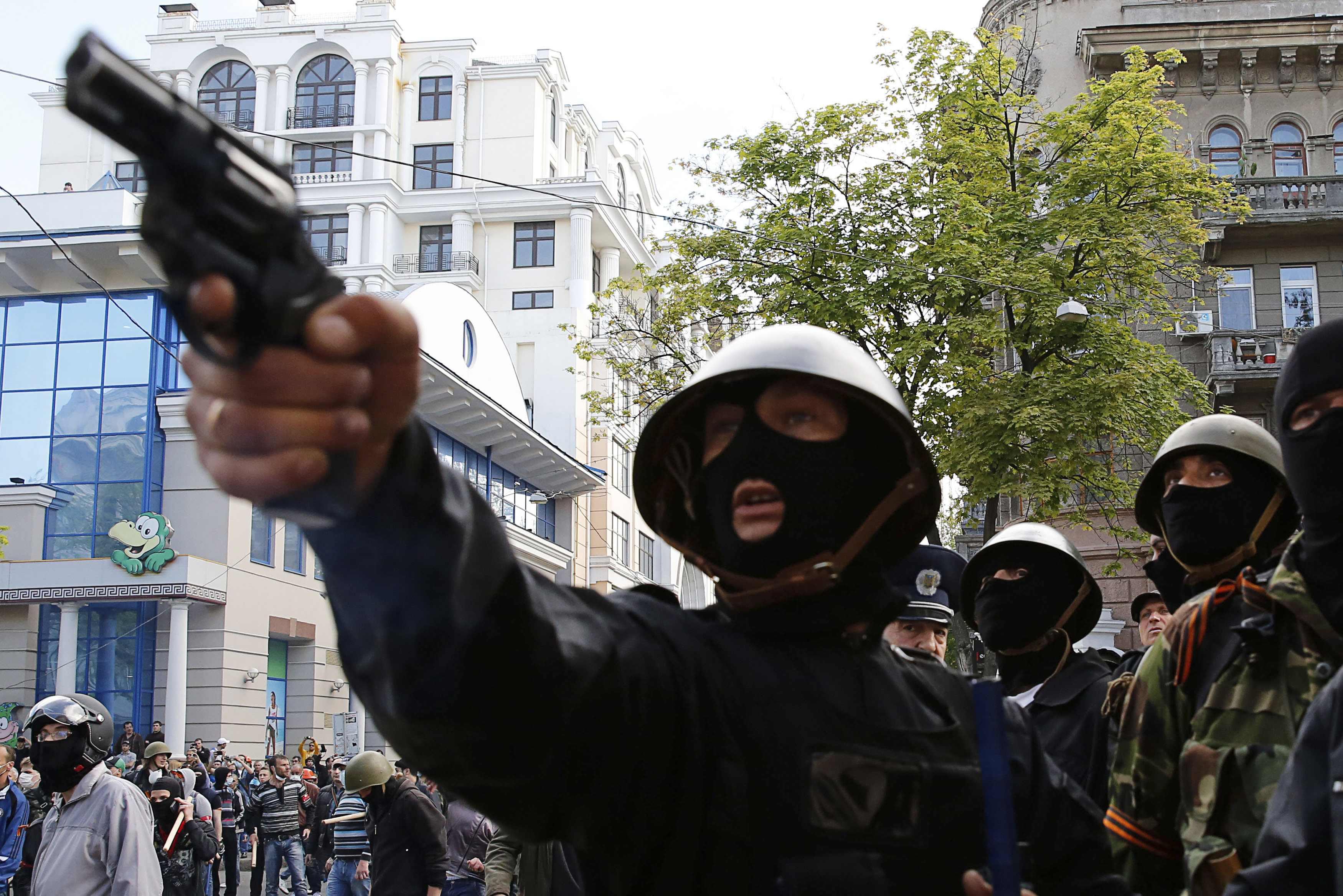 Пророссийские сепаратисты начали бойню в Одессе