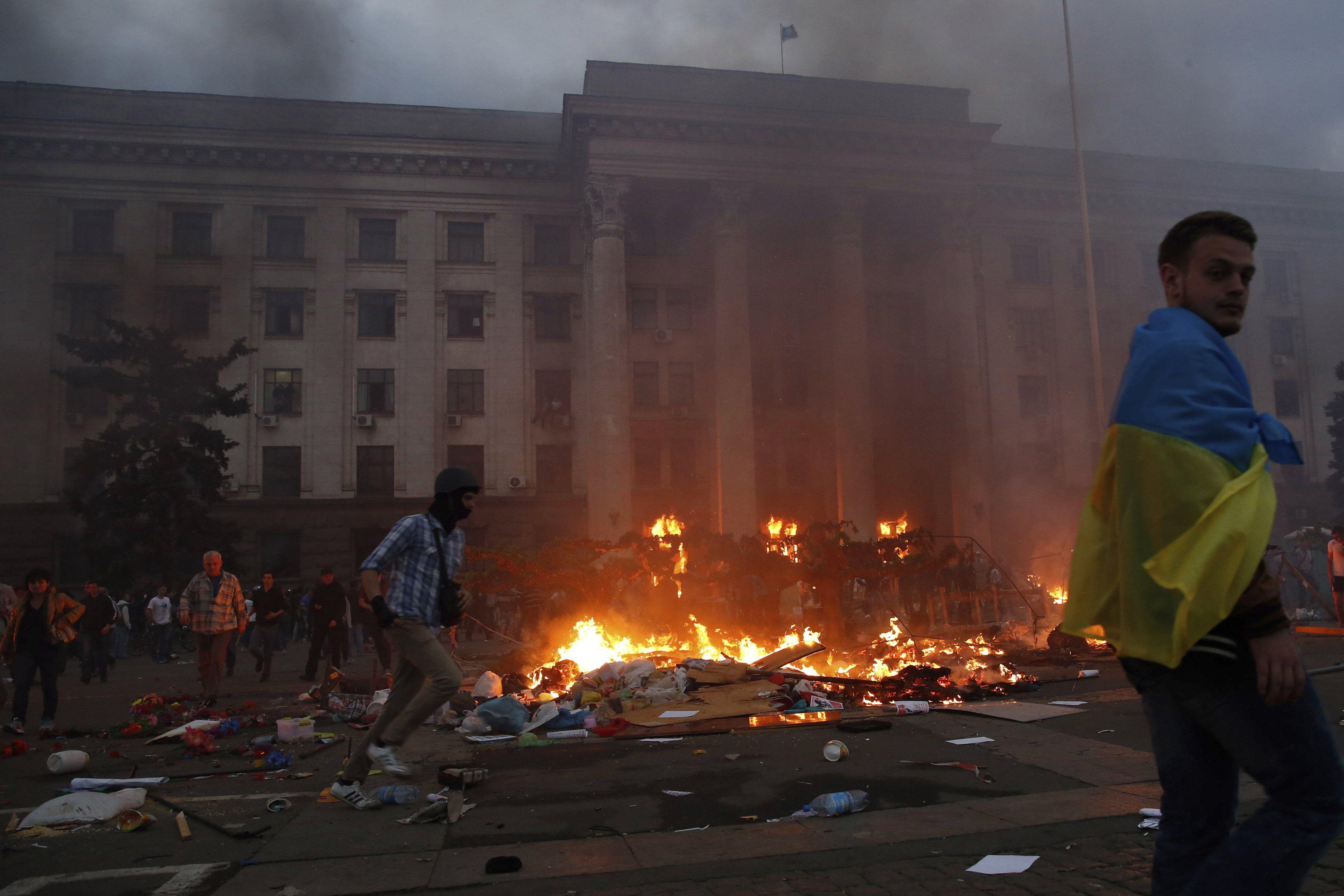 Трагедия на Куликовом поле в Одессе, 2 мая