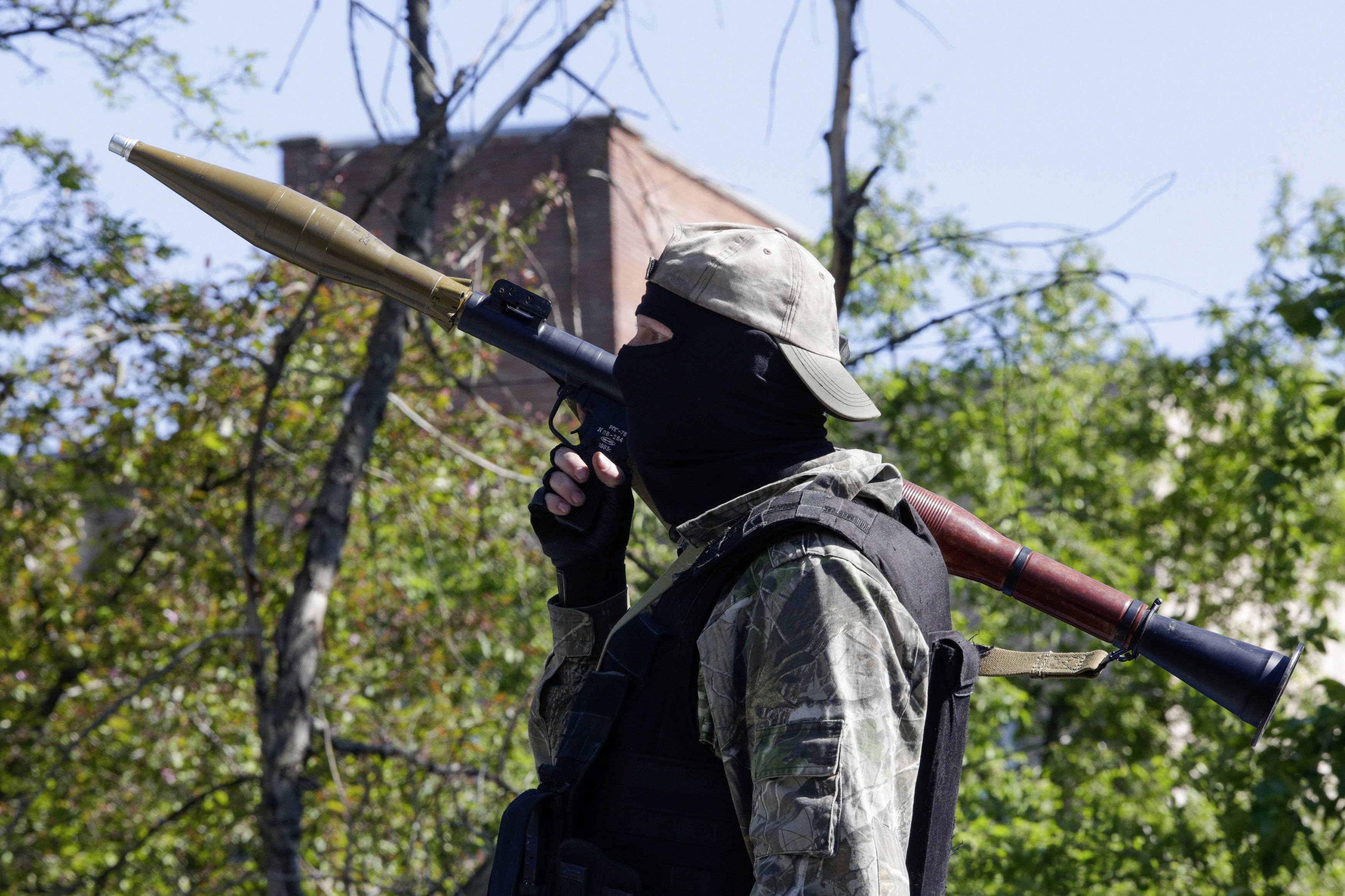 Донецкий боевик