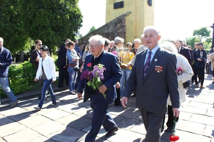 День Победы во Львове