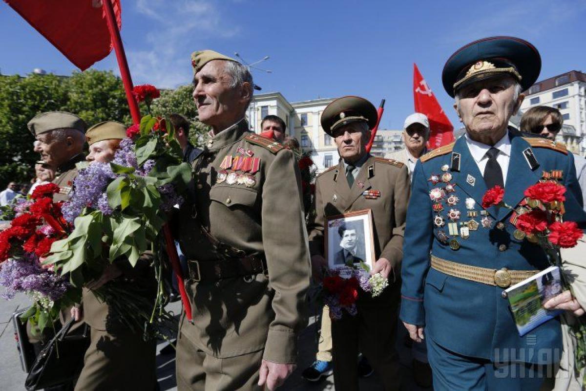 Ветераны празднуют День Победы