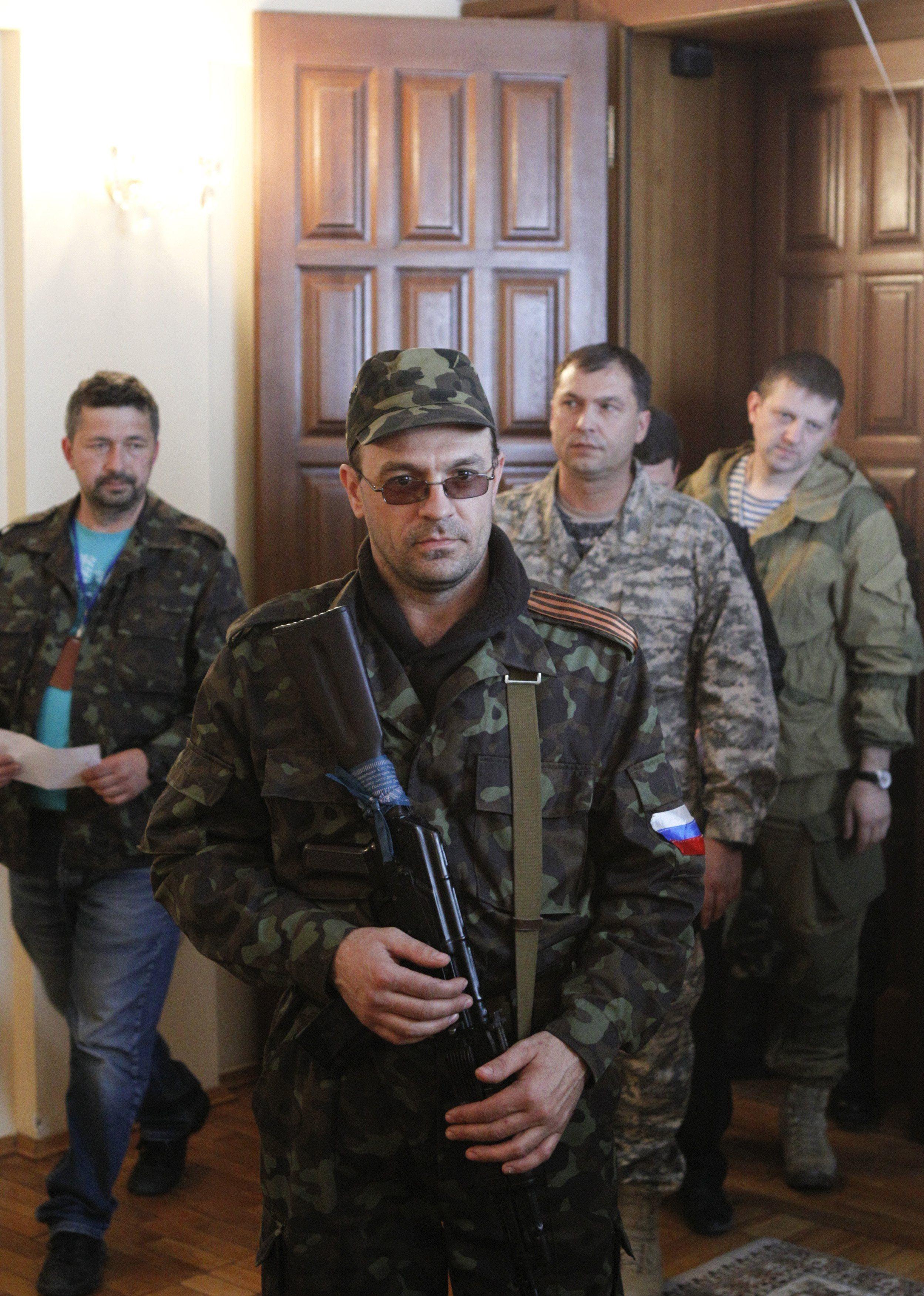 В расстреле виновны боевики Болотова.