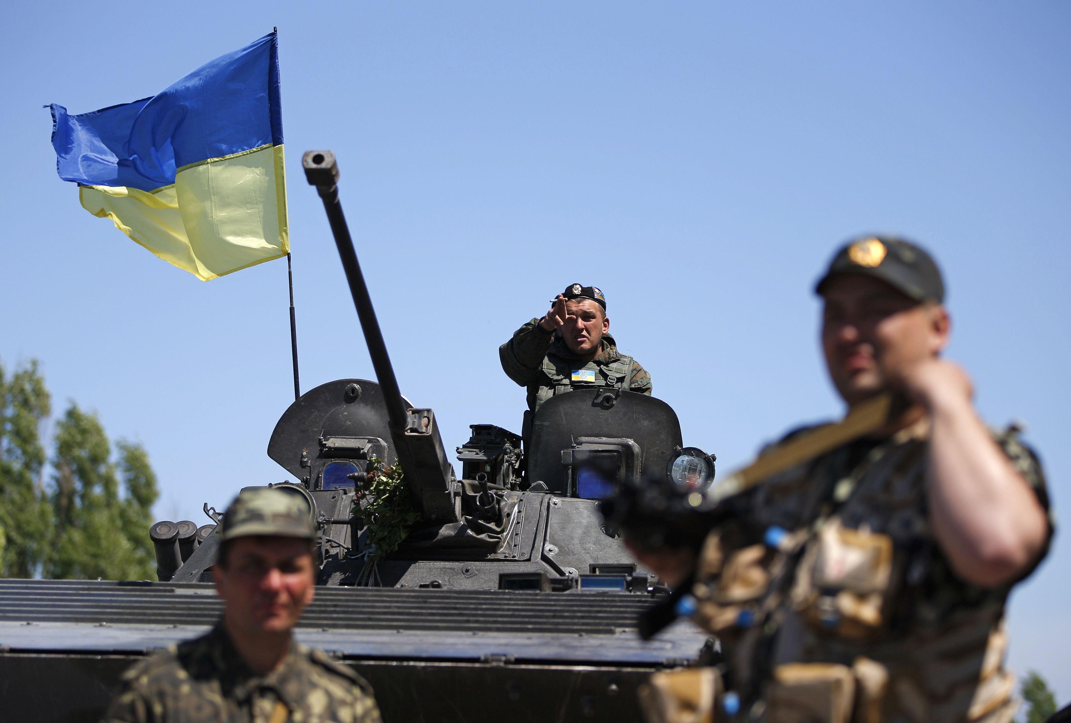 Украинские силовики на Донбассе, иллюстрация