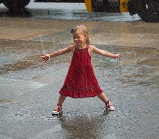 весна, дождь