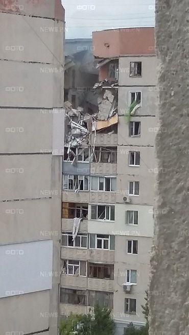 Взорвавшийся дом в Николаеве
