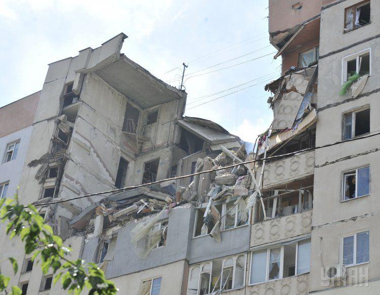 Взрыв дома в Николаеве