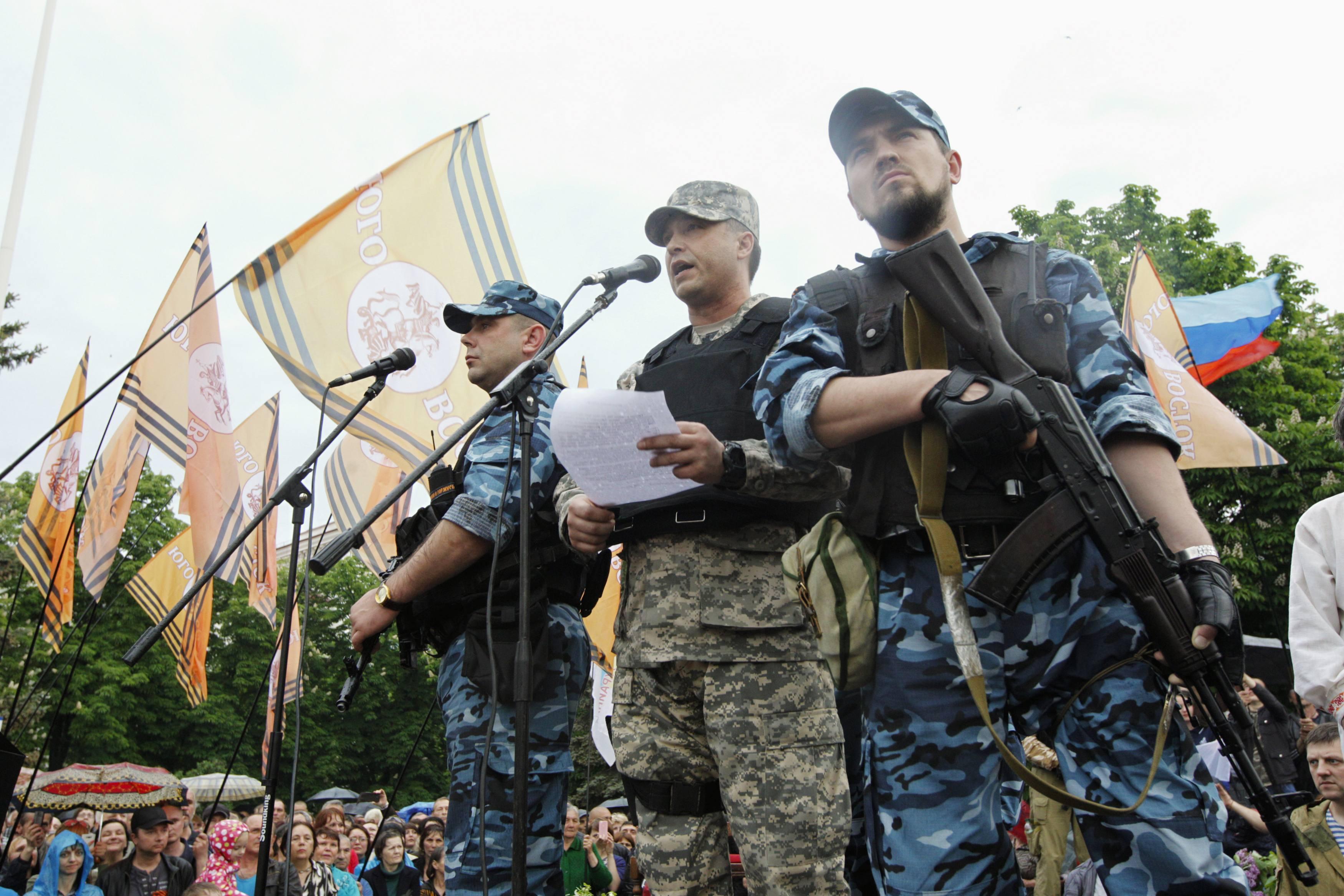 Луганские террористы