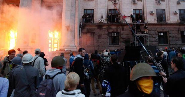Трагедия в Одессе, фото с места событий 2 мая
