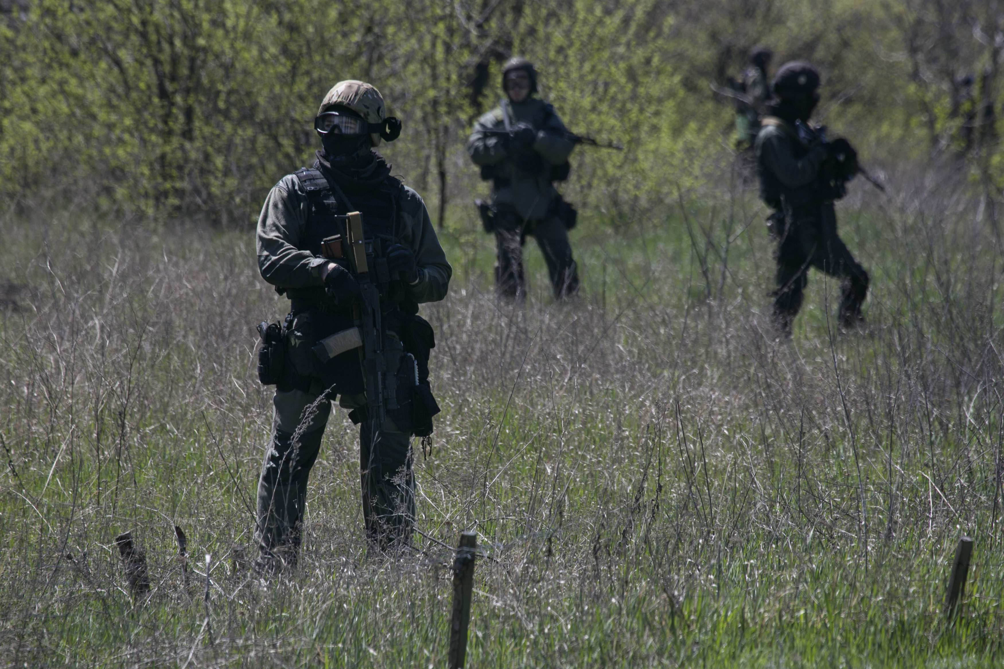 Украинский спецназ, иллюстрация