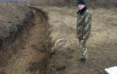Рвы на украинской границе, иллюстрация