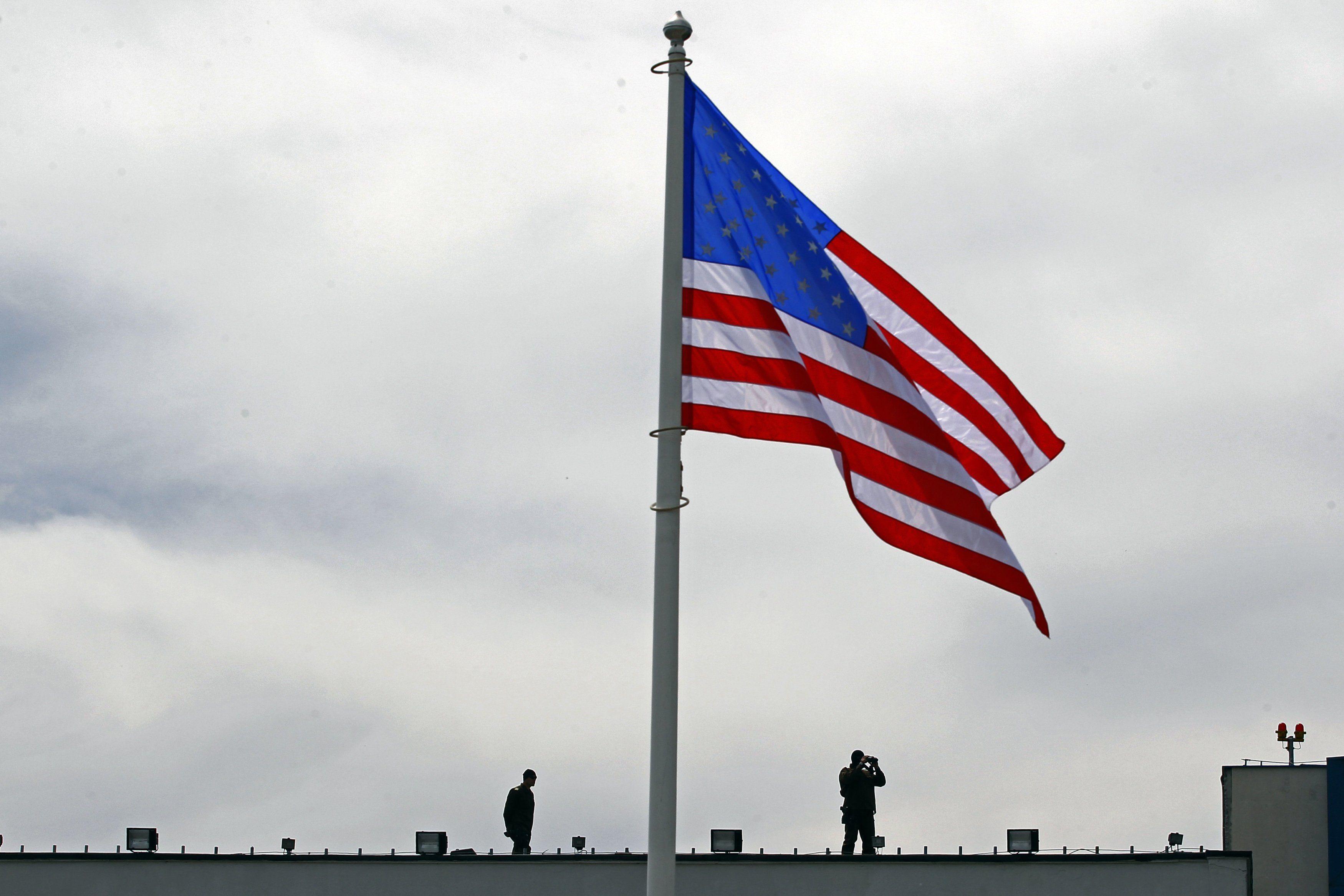 Флаг США, иллюстрация