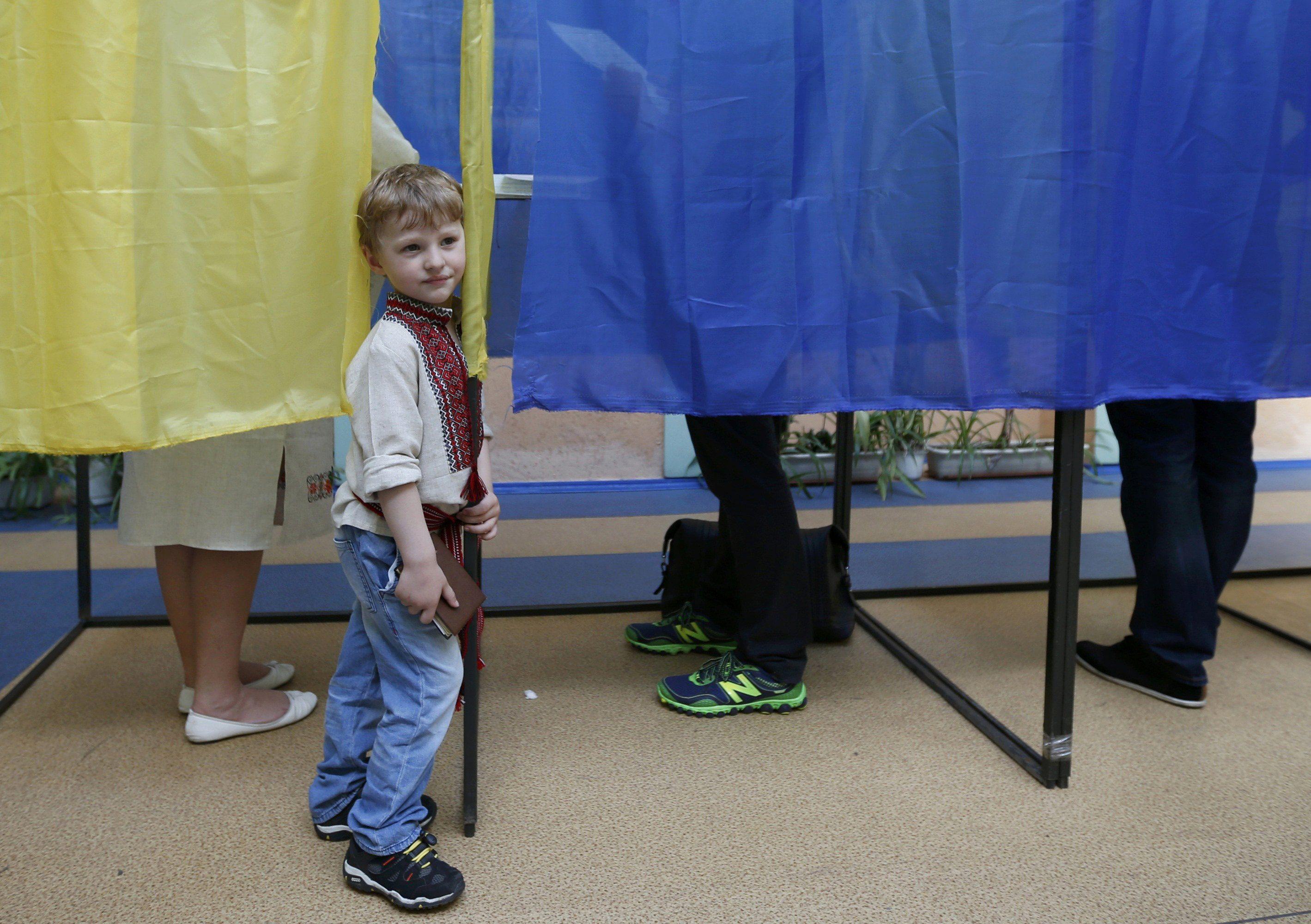 Голосование в Киеве